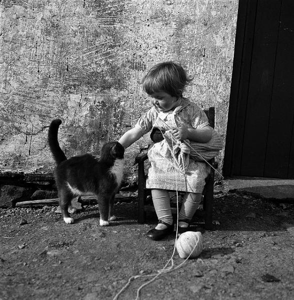 niña con gato 2
